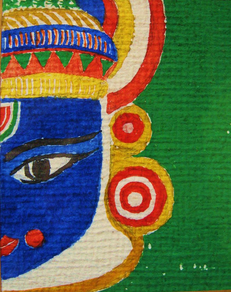Lord Krishna Designs Lord Krishna 39 s Mask Design by