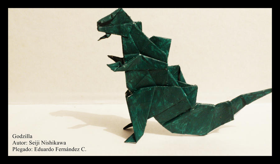 godzilla origami 01 by schwarzeherzphotoart on deviantart
