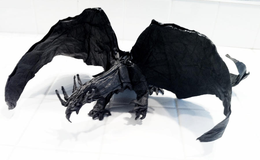 Origami Ancient Dragon By Mechaprime 00 On Deviantart