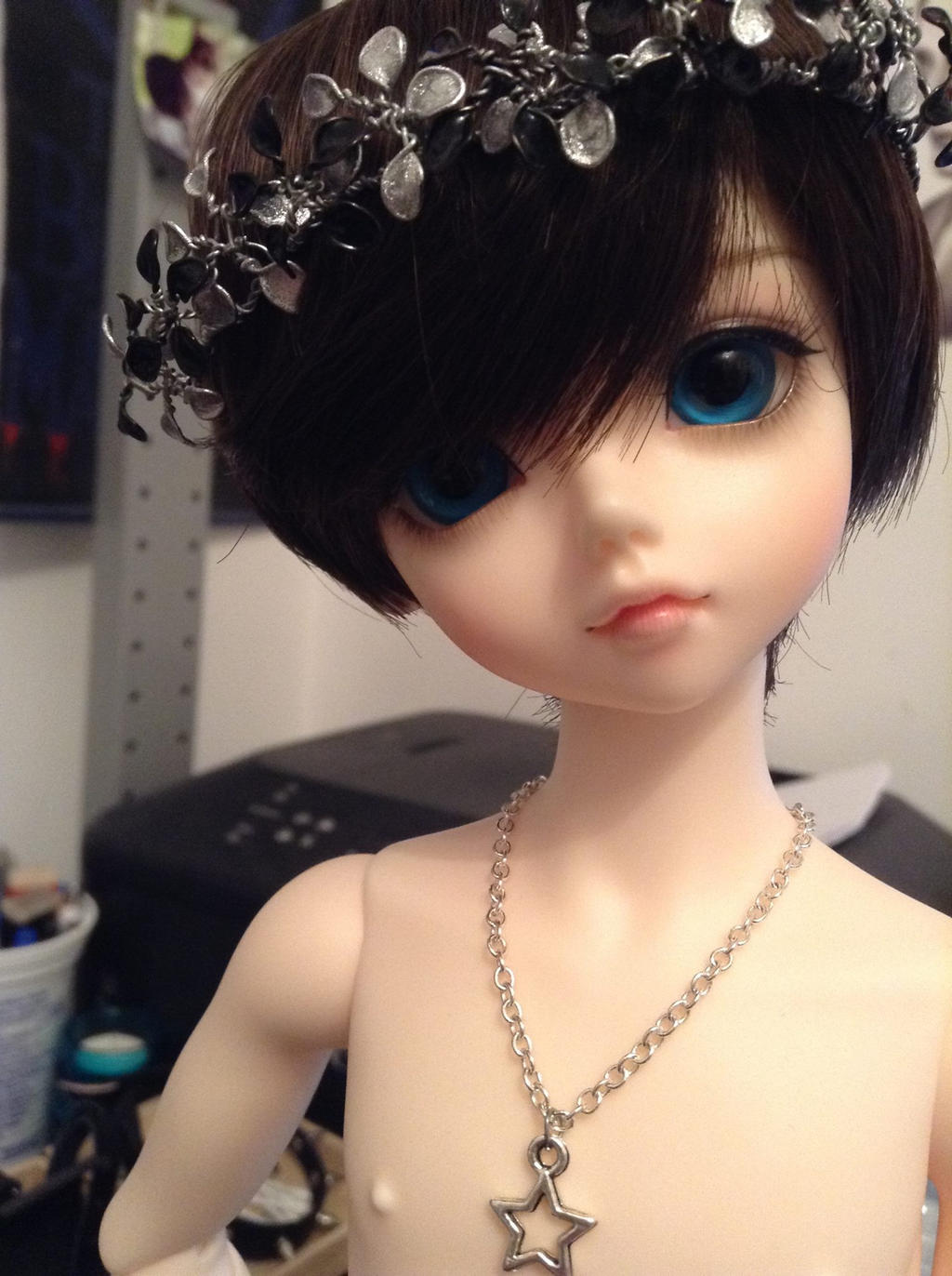Wire Nail Polish Flower Crown By Tactical Genius On Deviantart