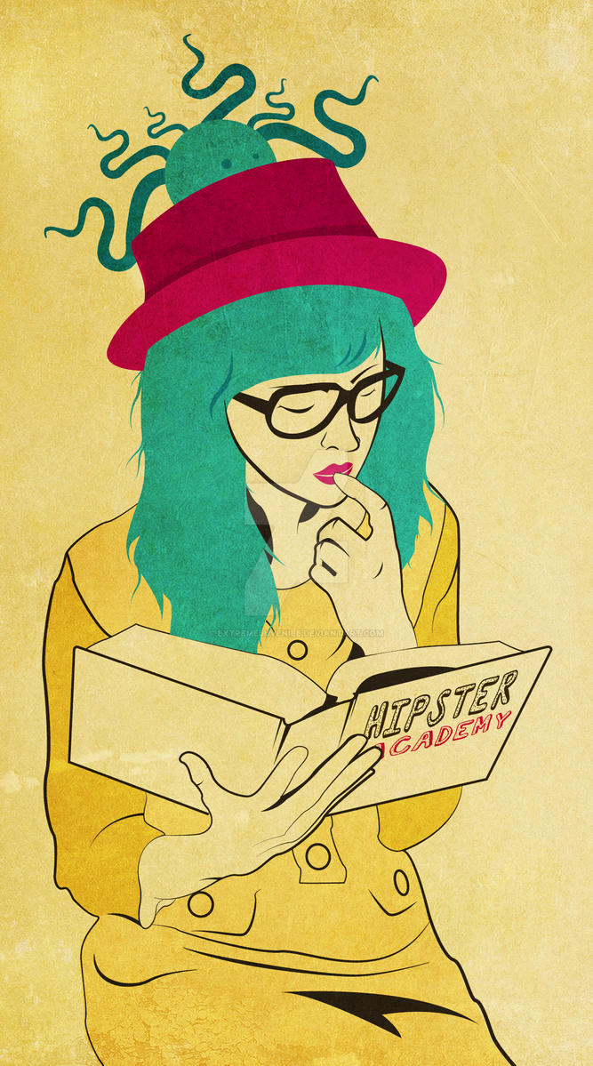 Hipster Girl in the making by ExtremeJuvenile
