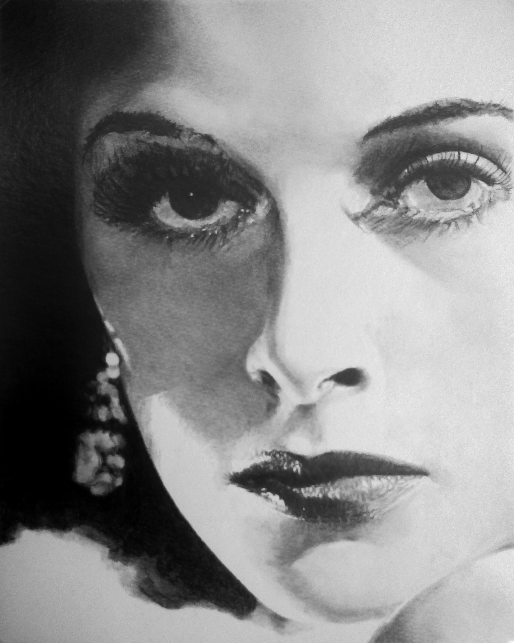 Hedy Lamarr by stevie-wydder