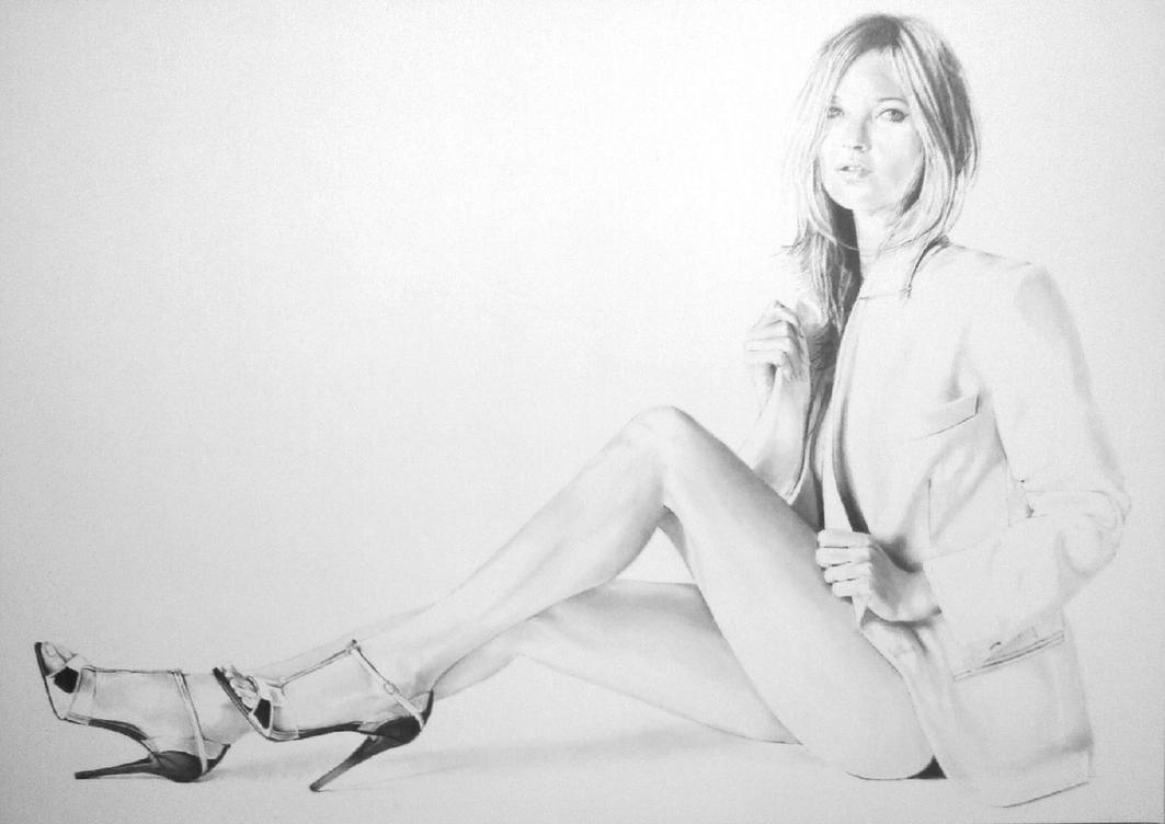 Kate Moss by stevie-wydder