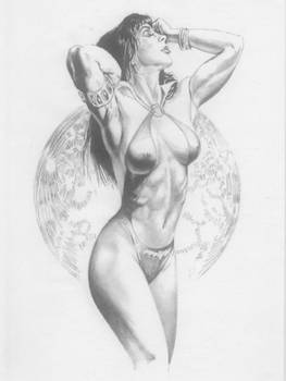 Tribute to Julie Bell and Boris Vallejo