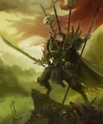 Skaven Warlord by wibben