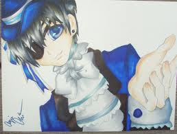 ciel is soooo cute! it is called take my hand by gothichix8991
