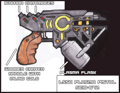 LSSC Plasma Pistol by IfritianIndustries