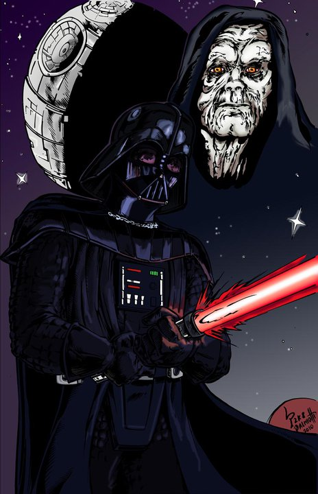 Darth Vader - Color by PeterPalmiotti