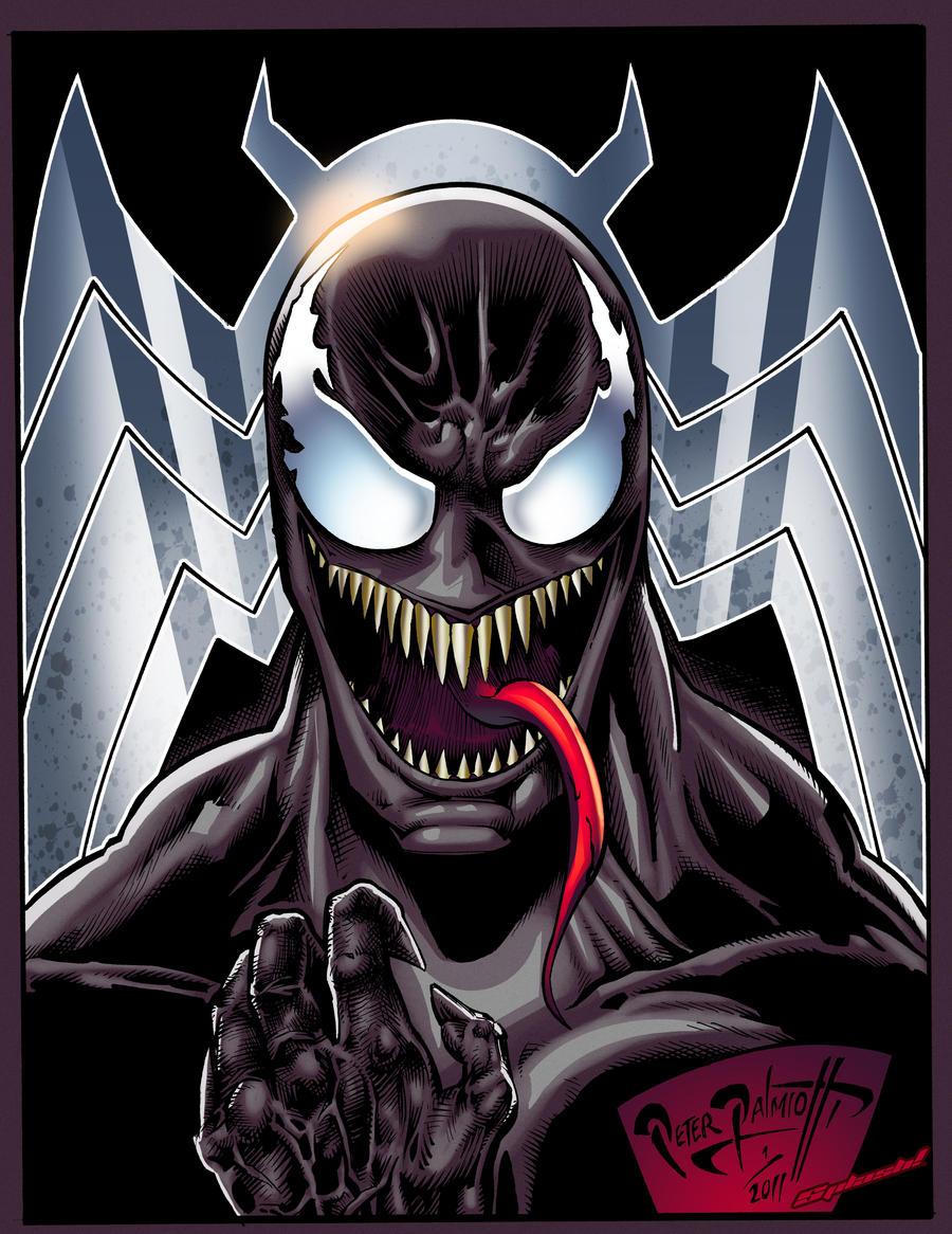 Venom Color by PeterPalmiotti
