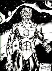 Green Lantern w. BG by PeterPalmiotti