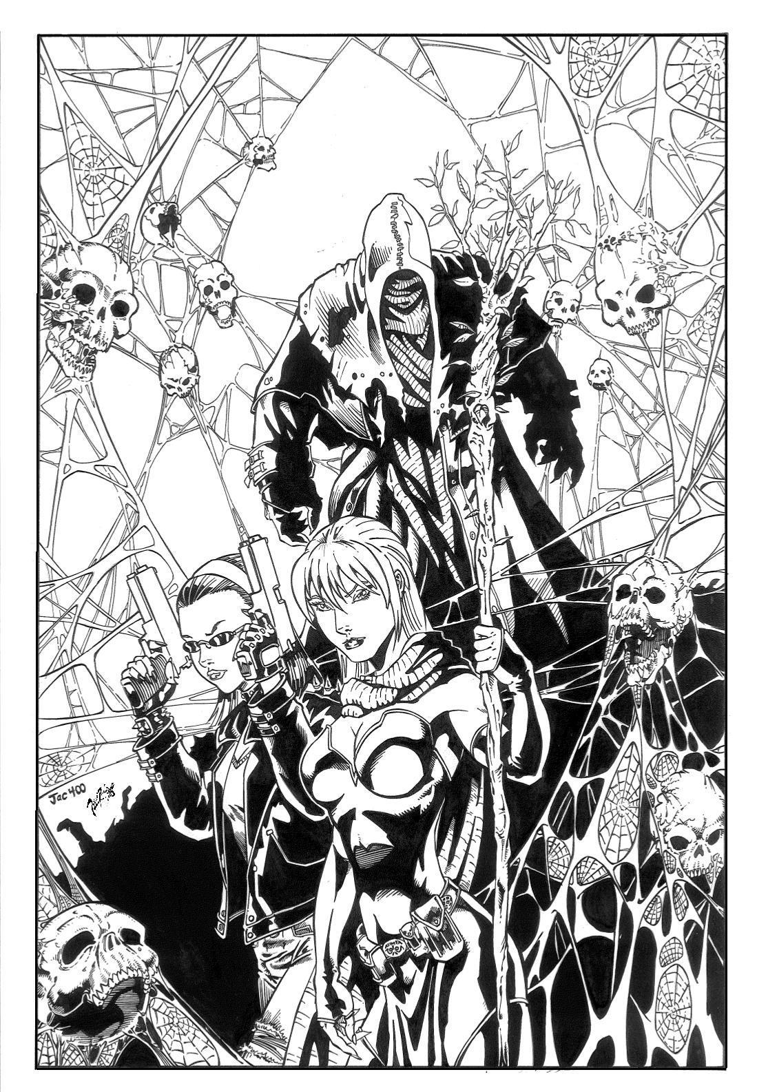 Blood Rites cover by PeterPalmiotti