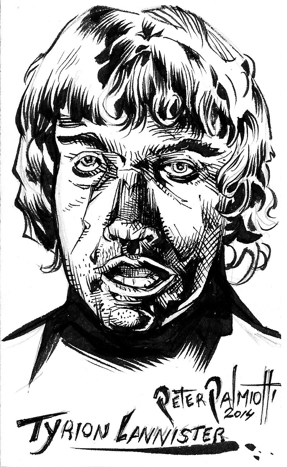 Tyrion Lannister - Game of Thrones by PeterPalmiotti
