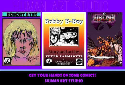 Human Art Studio promo by PeterPalmiotti