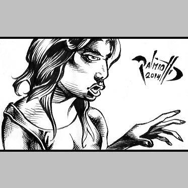 Rocker Girl by PeterPalmiotti