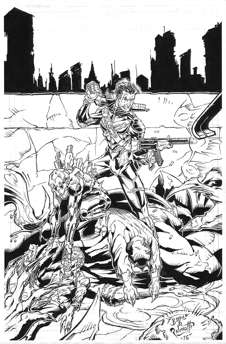 End of Days issue one cover by PeterPalmiotti