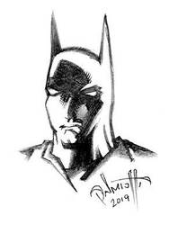 The head of Batman