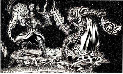 Cosmic fight