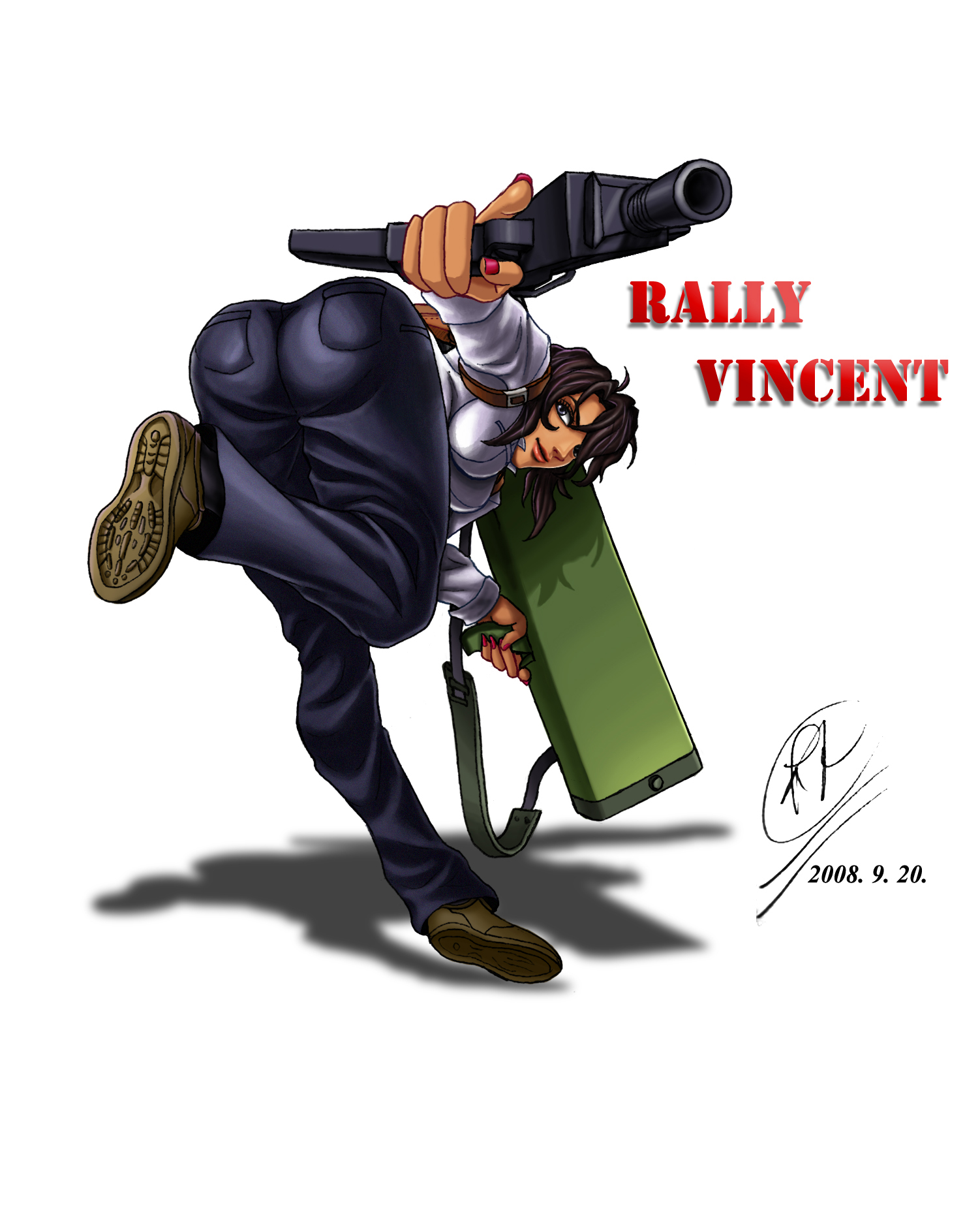 Gunsmith Cats Rally_vincent_by_renirevenge-d4dp02d
