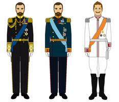 The Three Emperors by AlexanderAugustusIII