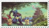 Fanstamp: Lucario by Lopunny1984
