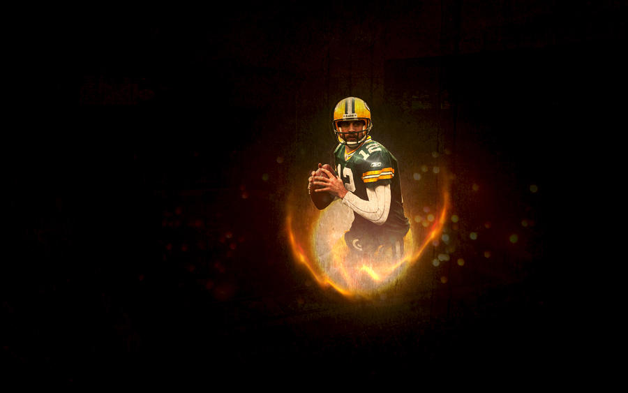 aaron rodgers wallpaper by hennessey33 on deviantart