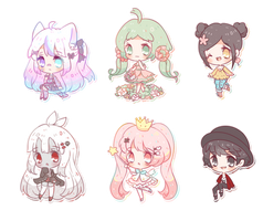 Commission batch - larger cheebs