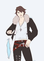 sorceress!squall