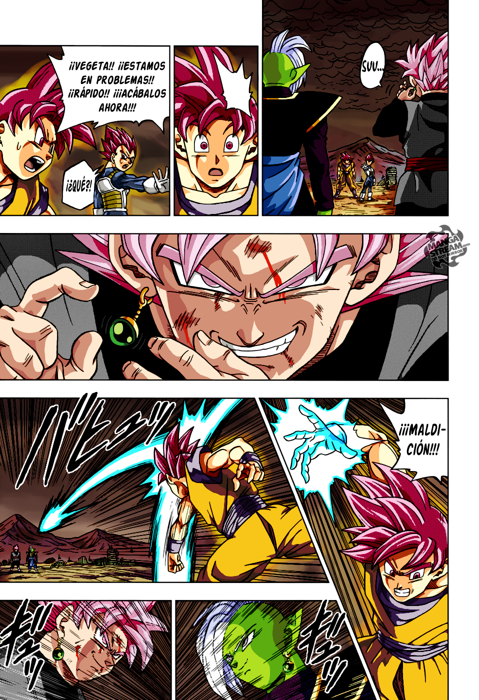 dragon ball super manga 22 color another page by