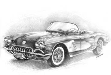 Chevrolet Corvette '58 by Sandersk