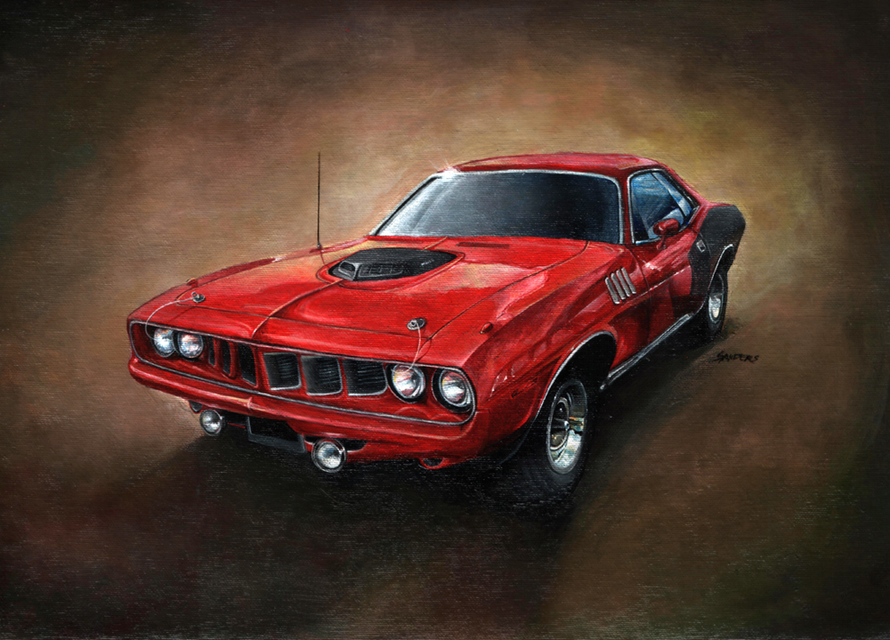 Plymouth Hemi Cuda '71 by Sandersk