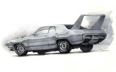 1971 Plymouth Superbird by Sandersk