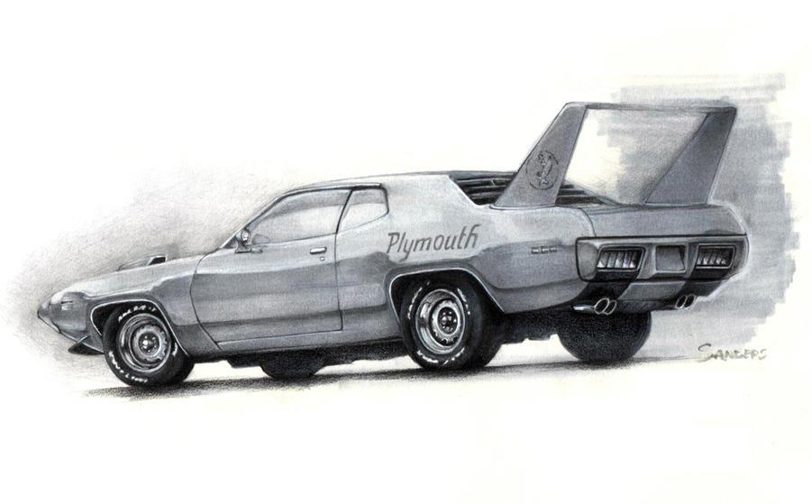 roadrunner bird drawing