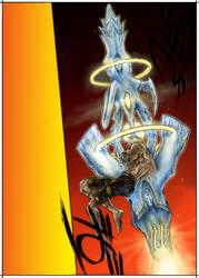 TRIGUN MAXIMUM Angel Arm by Sandersk