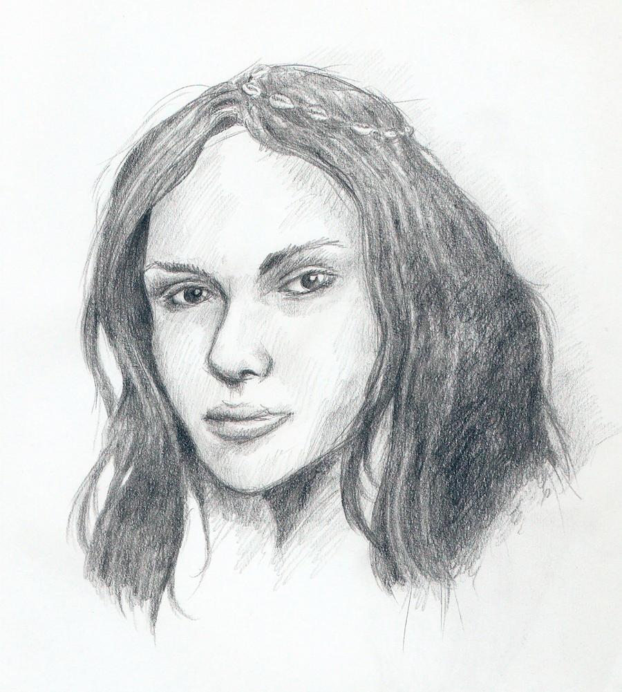Cro-magnon woman by Mihin89 on DeviantArt