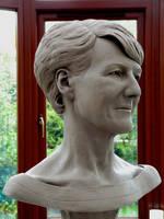 Portrait of my Mum 3 by tecciztecatl