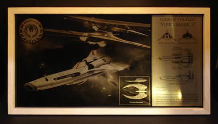 BSG Viper Mark II by NerdAdjacent