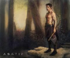 Warrior forest by aplicarte
