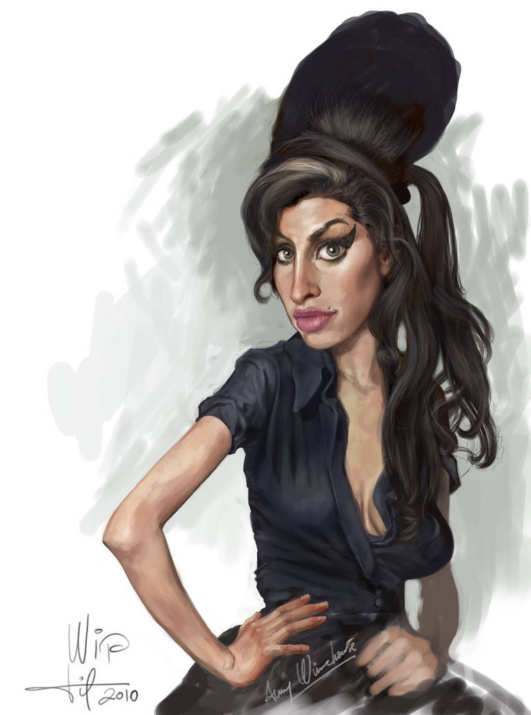 Amy Winehouse Wip By Aplicarte On Deviantart