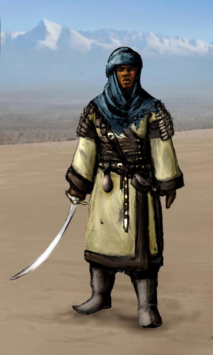 Alik'r warrior by Swietopelk