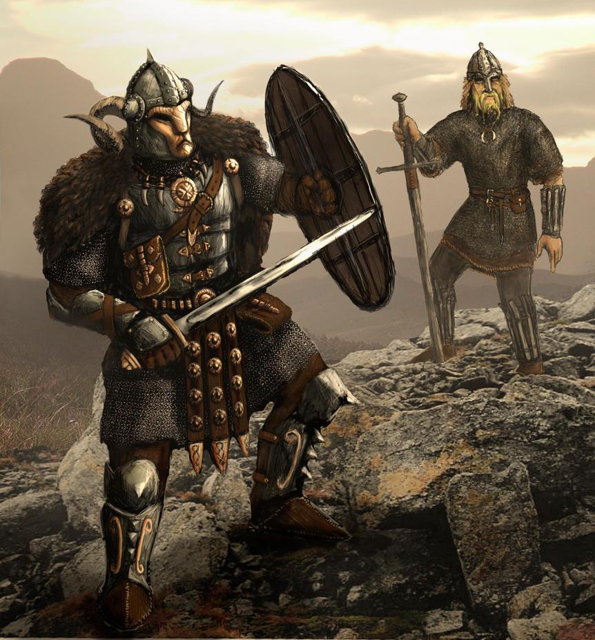 Norse badasser by Swietopelk