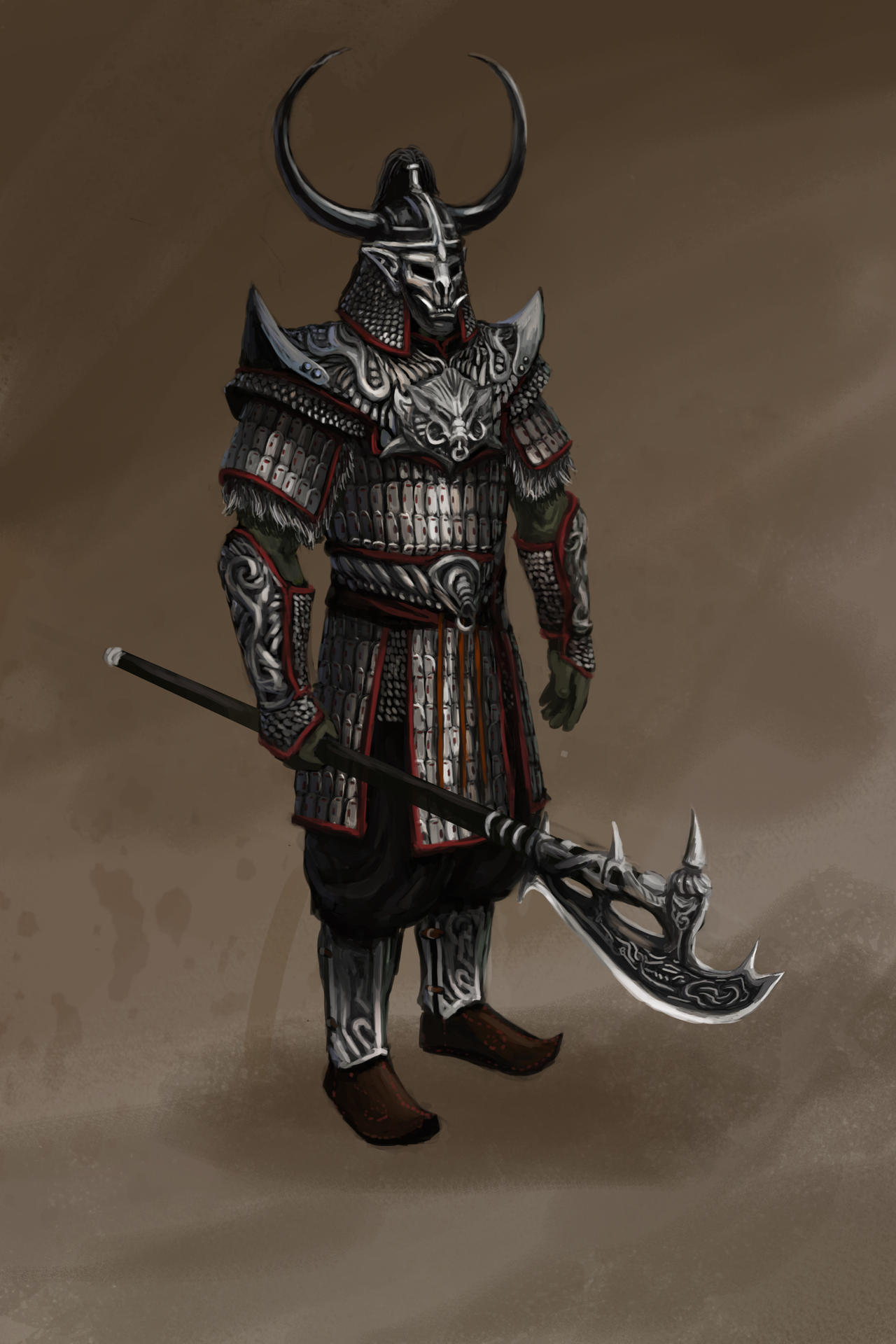 Orsinium noble warrior by Swietopelk