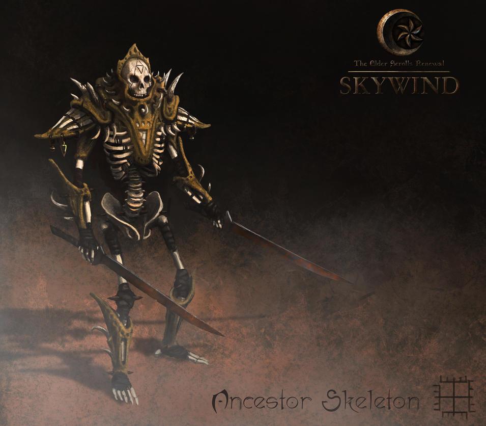 Ancestor Skeleton by Swietopelk
