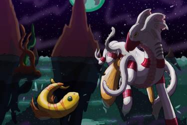 Mimic Dragon by KarenRoop