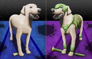 Armored Dog Split