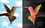Firebird Split by KarenRoop