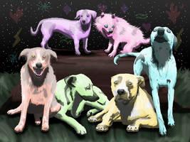 Elemental Dogs