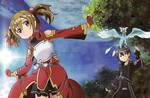 SAO - Sword Art Online - Silica and Kirito