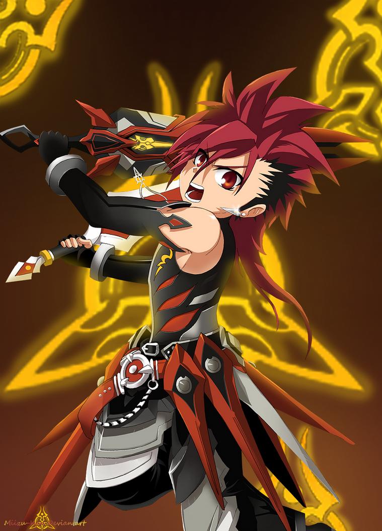 Elsword : Elsword Infinity Sword by Miizu-Kun