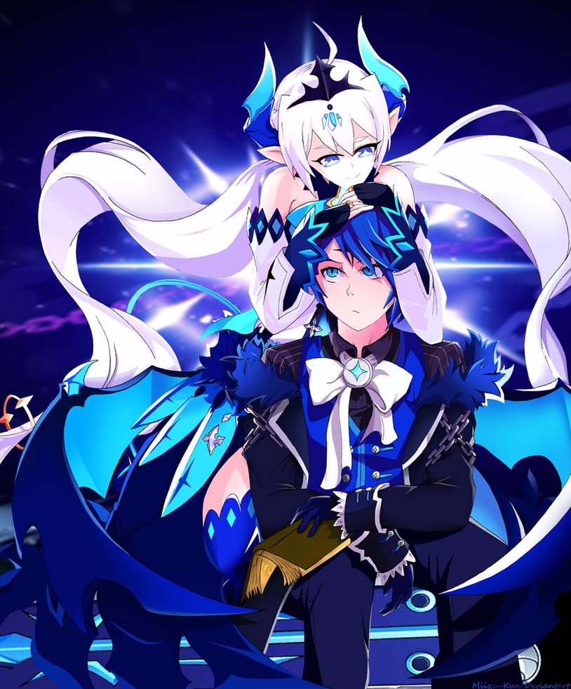 Elsword : Lu/Ciel Noblesse and Royal Guard by Miizu-Kun