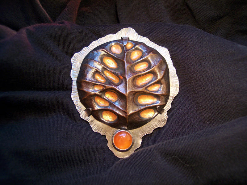TurtleTree Brooch 1 by metalhed2g
